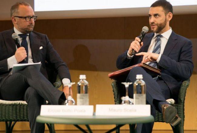 Ercole Botto Poala e Mauro Scalia di Euratex