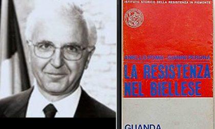 Addio a Perona, storico della Resistenza biellese