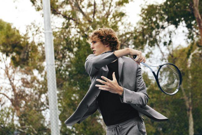 Moda e sport, il campione tedesco di tennis Alexander Zverev è il testimonial della nuova collezione TECHMERINO™ Wash&Go.