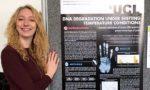 Alice Pistono, futura genetista al Parlamento inglese