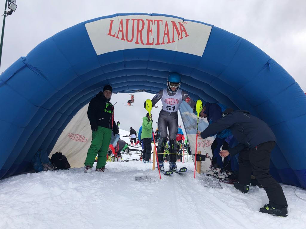 Bielmonte sci slalom speciale