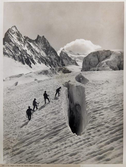 Una delle foto del portfolio sulle Alpi di Vittorio Sella all'asta da Bolaffi