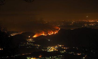"""Allerta incendi boschivi, nel Biellese il rischio è """"elevato"""""""