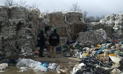 Cinquemila tonnellate di rifiuti stoccate in modo illegale