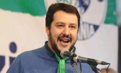 Matteo Salvini sabato a Biella