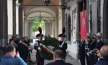 25 aprile a Biella: basta odio, il derby è fra fascisti e democratici  FOTO