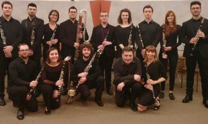 """""""I clarinetti del Cantelli"""" a Villa Ranzoni"""