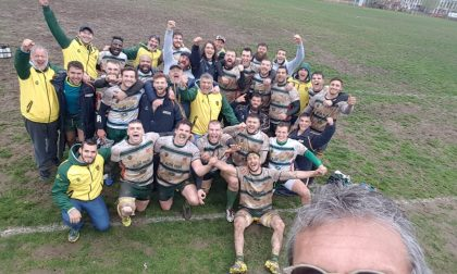 Edilnol Biella Rugby festeggia storica salvezza in A