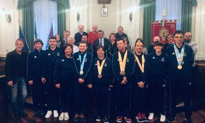 Special Olympics, parata di medaglie in Comune