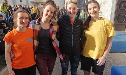 Giada Zampa ha vinto il Sondrio Street Climbing