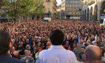 Migliaia a Biella per Salvini