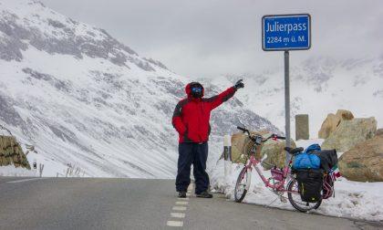 Omar supera le Alpi sotto una bufera di neve
