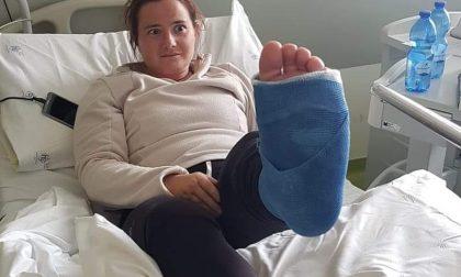 Sindaco di Rosazza scivola in montagna e finisce all'ospedale