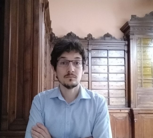 Stefano Leardi - nuovo direttore Archivio di Stato di Biella