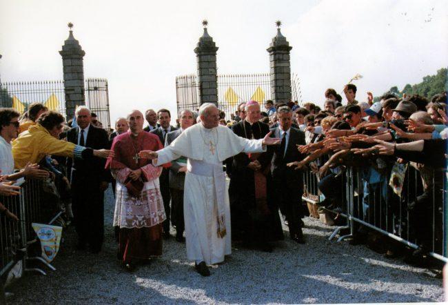 Oropa, 30 anni dopo, ricorda visita di Giovanni Paolo II