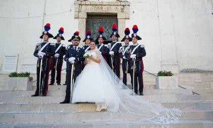 Andorno, nozze in grande stile per comandante carabinieri