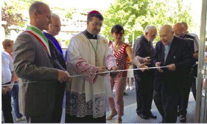 Portula, il Vescovo all'inaugurazione dell'emporio solidale