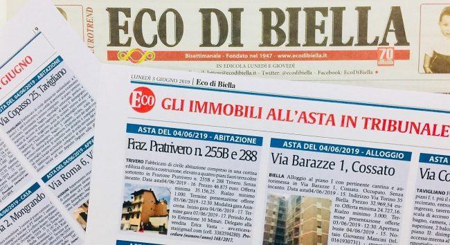 Domani su Eco Speciale Aste Immobiliari di febbraio in Tribunale