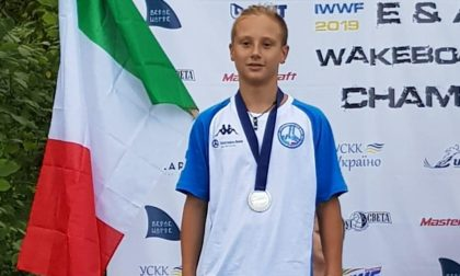 Wakeboard, Stefano Comollo star d'Europa