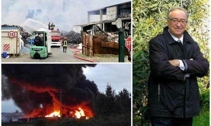 """Incendio Bergadano Gaglianico: """"Allarme rientrato si possono aprire le finestre"""""""