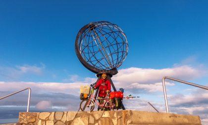 In bici a Capo Nord, missione compiuta