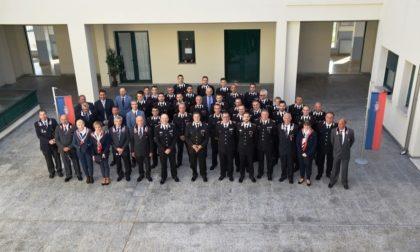 Il generale dei carabinieri in visita a Biella