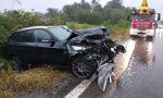 Raffica di incidenti stradali, tre i feriti