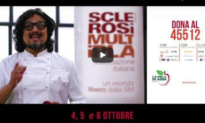 La Mela di AISM torna in 5000 piazze italiane per la lotta alla sclerosi multipla MAPPA