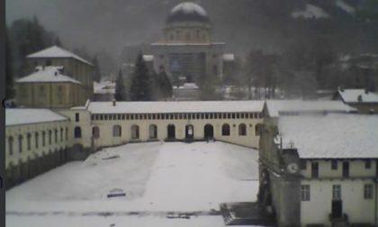A Oropa è tornata la neve