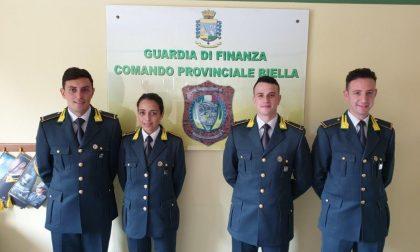 Quattro nuovi marescialli della Guardia di finanza