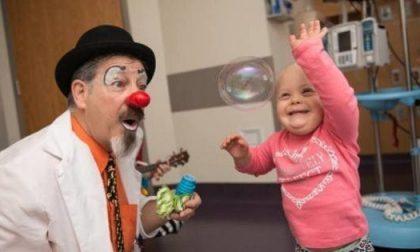 All'ospedale arriva l'inventore della clownterapia