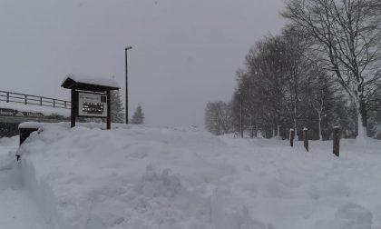 Domenica con neve copiosa a Bielmonte FOTO