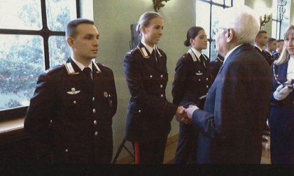 Verrone applaude carabiniere Ilaria Garizio premiata da Mattarella