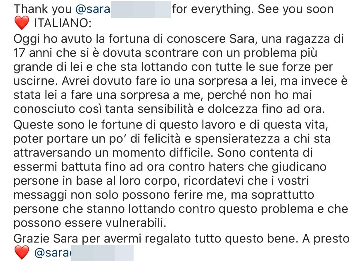 Chiara Ferragni presenta il suo docufilm, e si emoziona