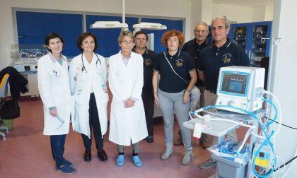 Ventilatore neonatale donato dalla Pro loco all'Asl