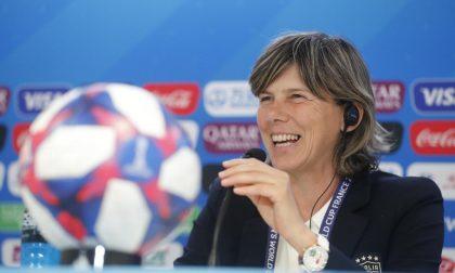 CT azzurra Bertolini a Biella per il libro di Alciato su calcio femminile