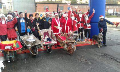 Vigliano, una corsa per 200 Babbi Natale FOTO