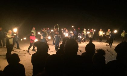 Bielmonte, è il gran giorno della Fiaccolata per la Madonna degli sciatori