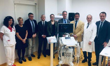 Fondazione Tempia e Menabrea donano ecografo per pediatria