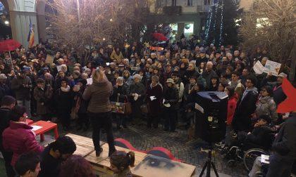 "Sardine biellesi, in 400 alla Fons Vitae: ""Basta odio"""