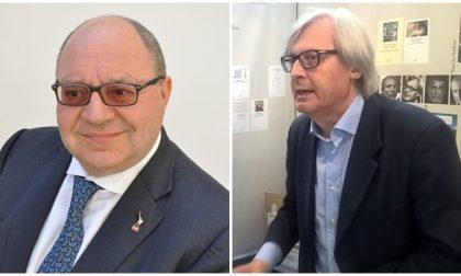 Peculato per l'auto blu - Vittorio Sgarbi difende il sindaco Corradino e annuncia esposto contro Procura di Biella