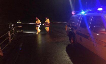 Frana sulla Chiavazza Ronco, strada provinciale di nuovo chiusa al traffico