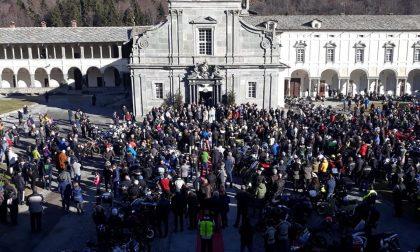 Oropa, quasi 500 motociclisti per la benedizione