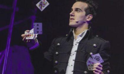 Illusionismo, sabato al Sociale c'è il campione italiano Luca Bono