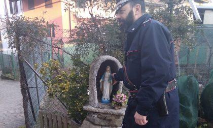 Crocemosso, denunciato il ladro della Madonnina