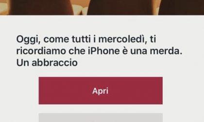 """""""Ti ricordiamo che iPhone è una m..."""" ma è attacco hacker a catena ristoranti"""