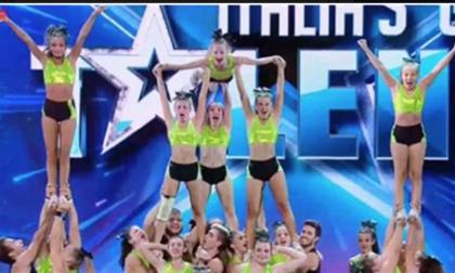 Le tre cheerleader del liceo di Cossato stupiscono a Italia's Got Talent