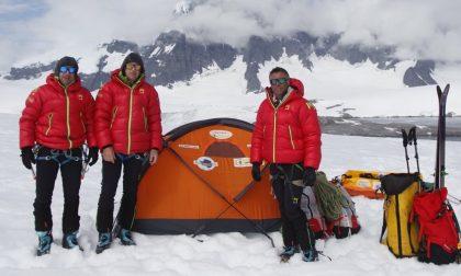 Spedizione biellese in Antartide, gli alpinisti rientrano in Italia