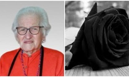 Muore a 101 anni Maria Sacchet