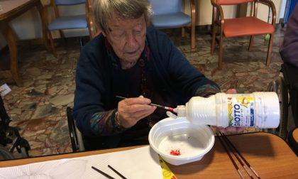 L'arte che diventa terapia in casa di riposo